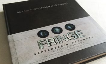 Coleccionismo: Fringe - Septembers Notebook