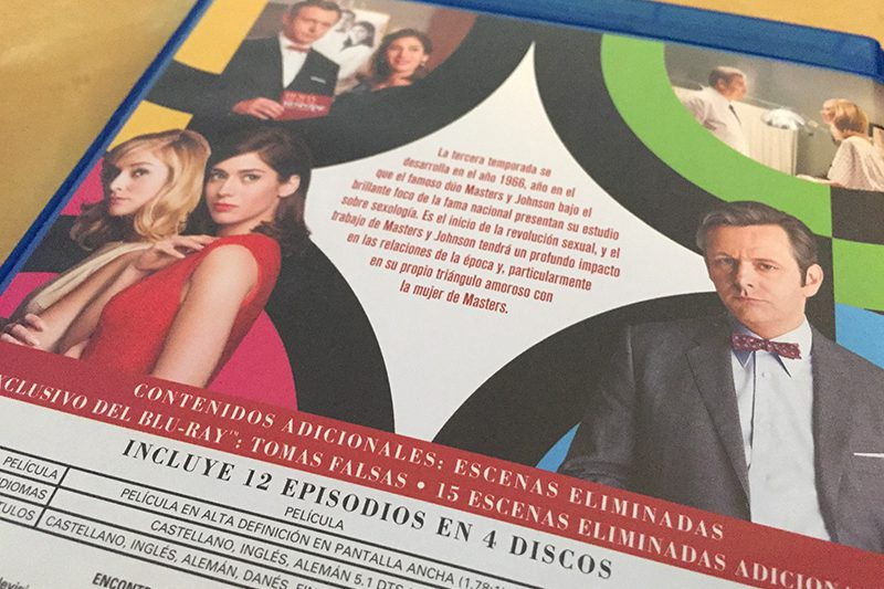 Análisis Blu-ray: Masters of Sex, Temporada 3 • En tu pantalla