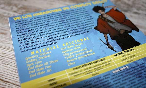 Análisis Blu-ray: Samurai Champloo • En tu pantalla