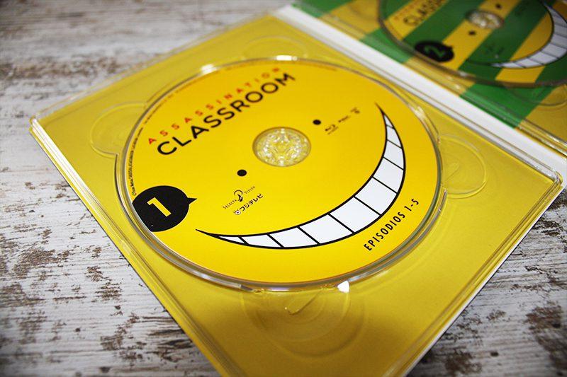 Análisis Blu-ray: Assassination Classroom, Temporada 1 Parte 1 • En tu pantalla