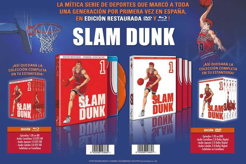 Análisis Blu-ray: Slam Dunk, Volumen 1 • En tu pantalla