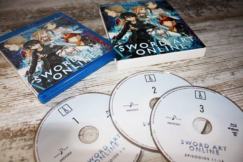 """Análisis Blu-ray: """"Sword Art Online, Temporada 1 Parte 1"""" [Edición Simple] • En tu pantalla"""