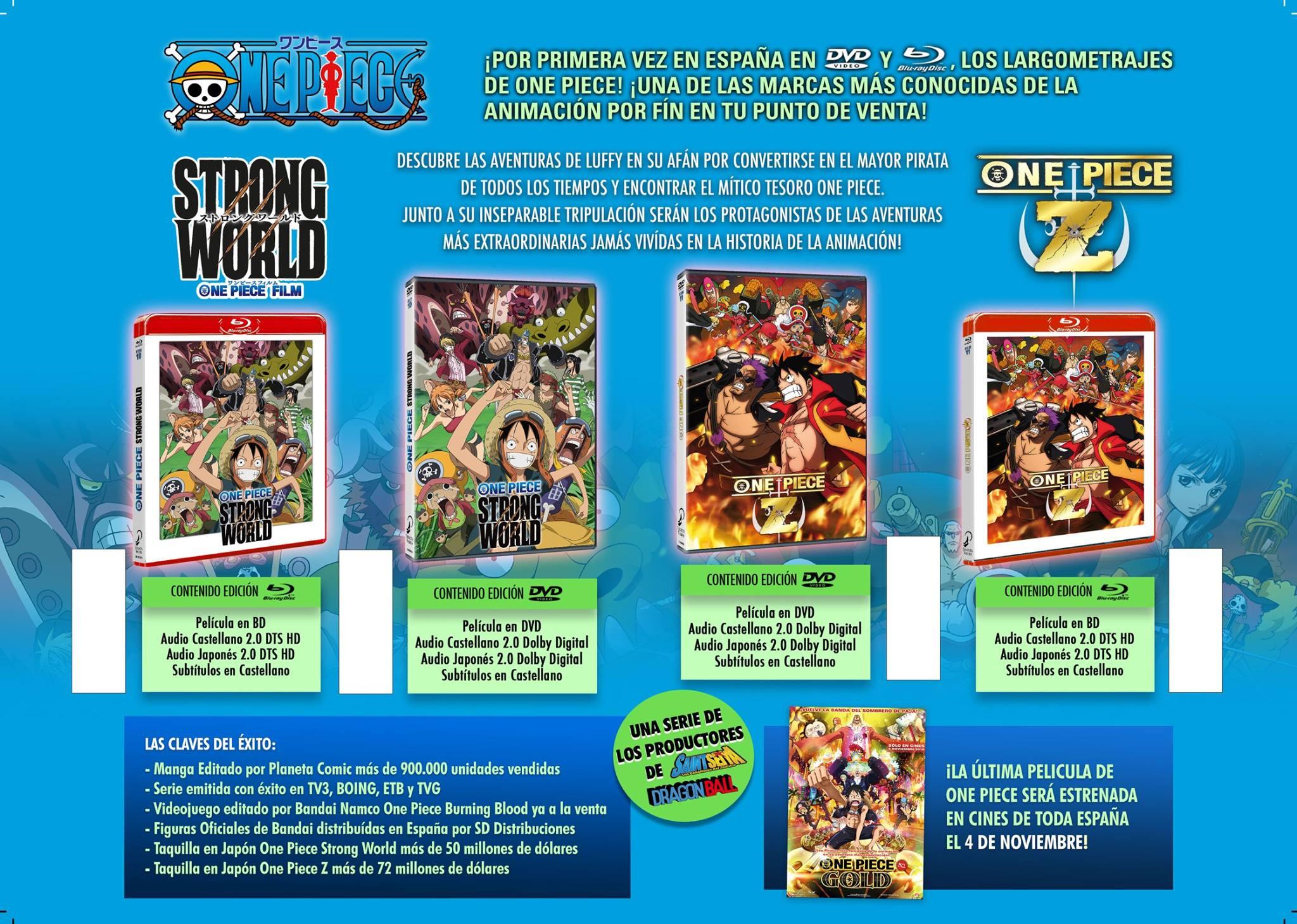 One Piece Blu-ray
