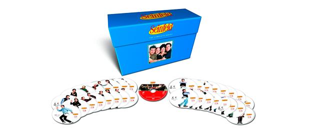 """Packs de series completas en Dvd y/o Blu-ray [Parte 1]: """"Seinfeld"""", """"Isabel"""", """"Downton Abbey""""... • En tu pantalla"""