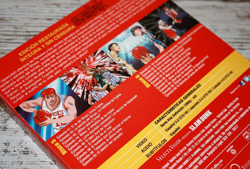 "Análisis Blu-ray: ""Slam Dunk, Volumen 3"" • En tu pantalla"