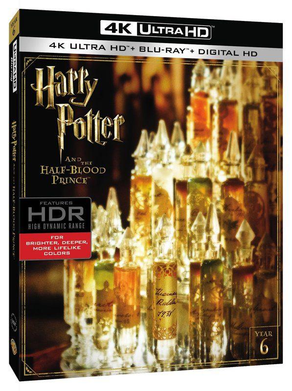 """""""Harry Potter"""" llegará en 4K Ultra HD [Actualizado con todas las carátulas] • En tu pantalla"""