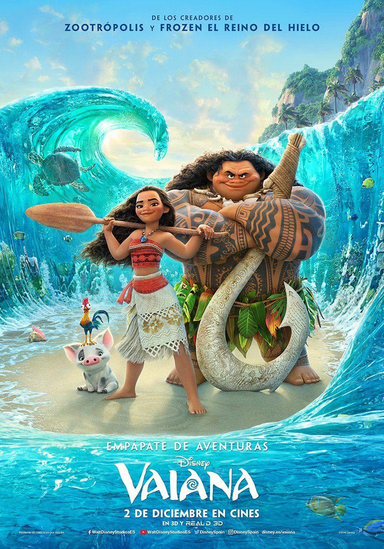 """""""Vaiana"""" en Blu-ray, Steelbook (3D+2D) y Dvd el 29 de marzo • En tu pantalla"""
