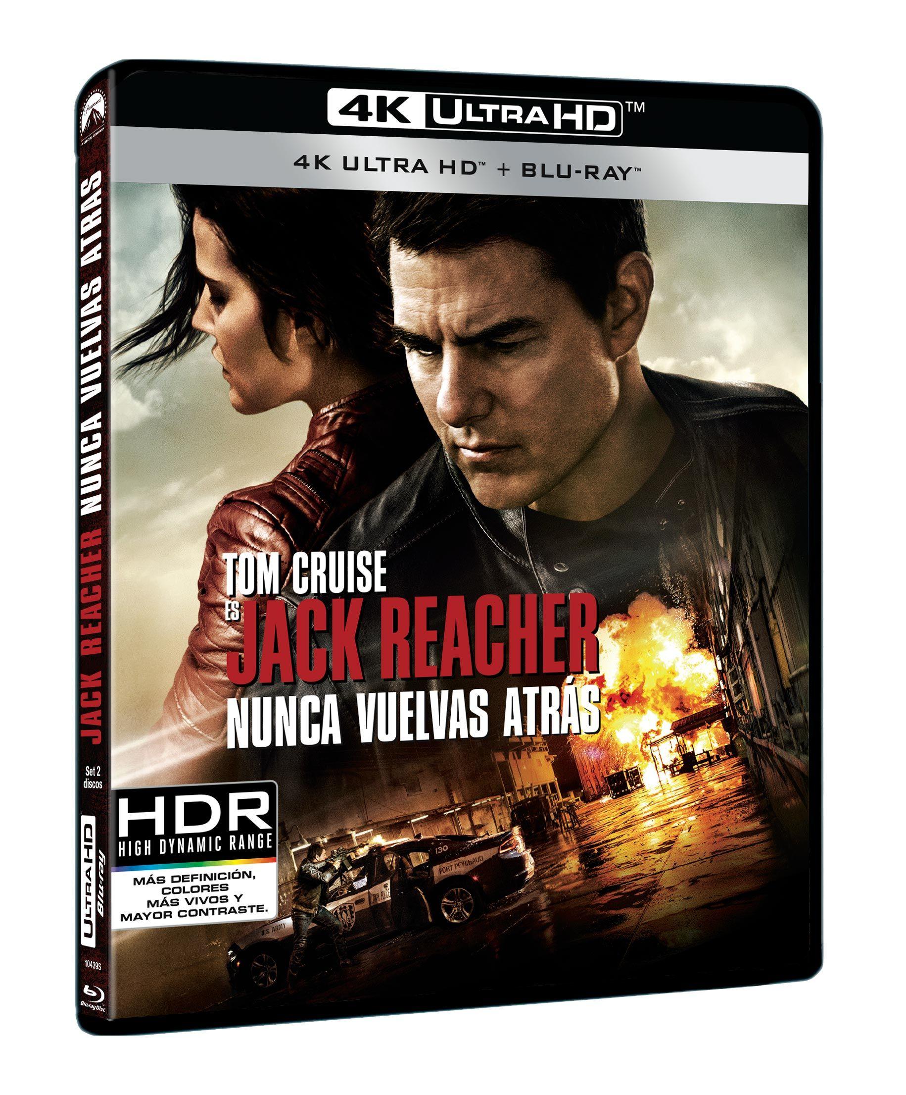 """""""Jack Reacher: Nunca vuelvas atrás"""" en 4K Ultra HD, Blu-ray y Dvd el 15 de marzo • En tu pantalla"""