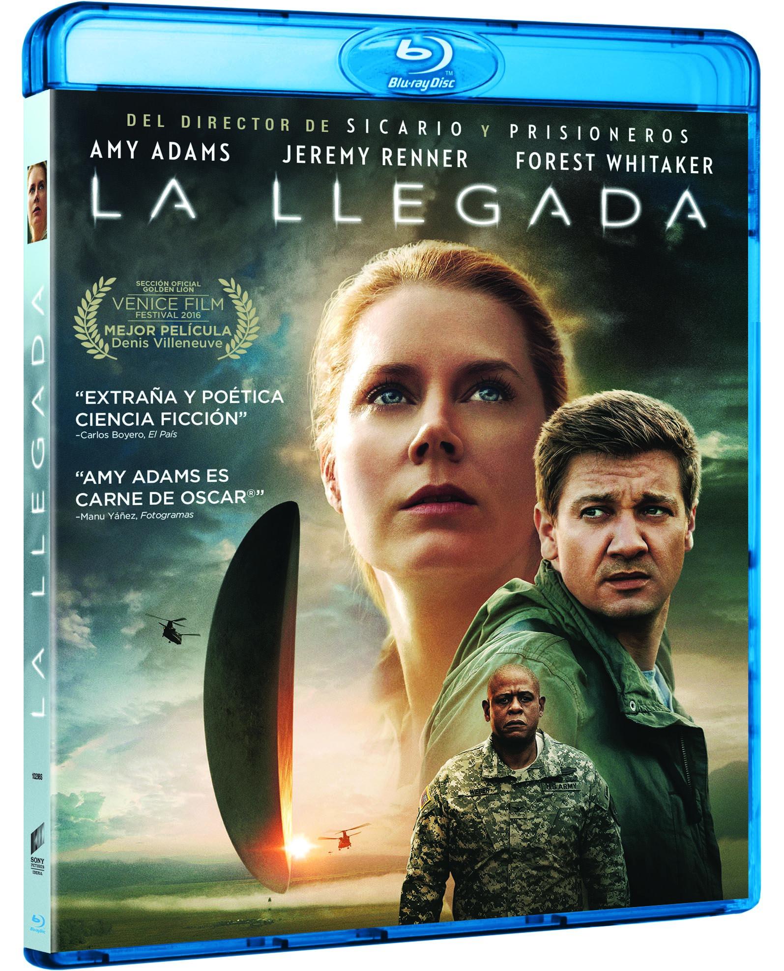 """""""La Llegada"""" en 4K Ultra HD, Blu-ray y Dvd el 15 de marzo • En tu pantalla"""