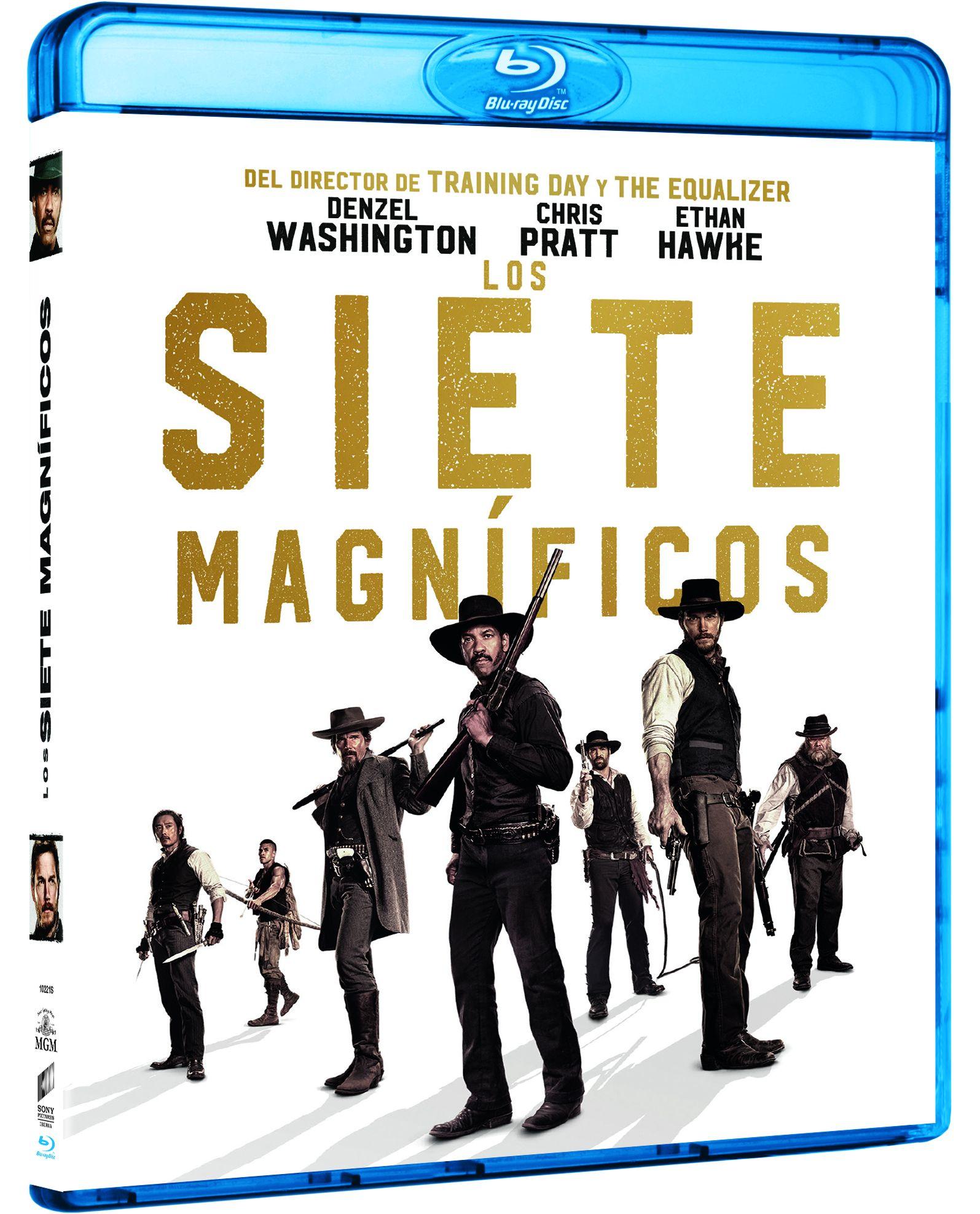 """""""Los Siete Magníficos"""" en 4K Ultra HD, Blu-ray y Dvd el 8 de febrero • En tu pantalla"""