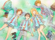 "Review: ""Your lie in April, parte 1"". Kôsei, Kaori y la música."