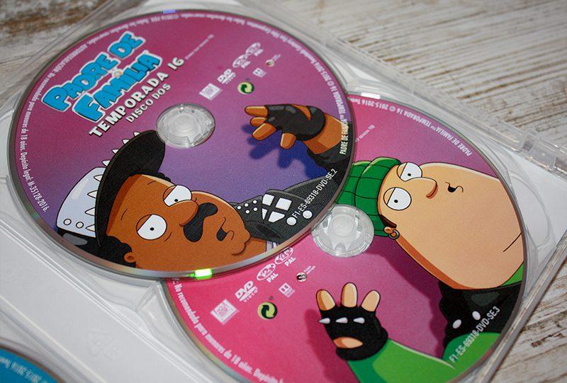 "Análisis Dvd: ""Padre de familia, Temporada 16"" • En tu pantalla"