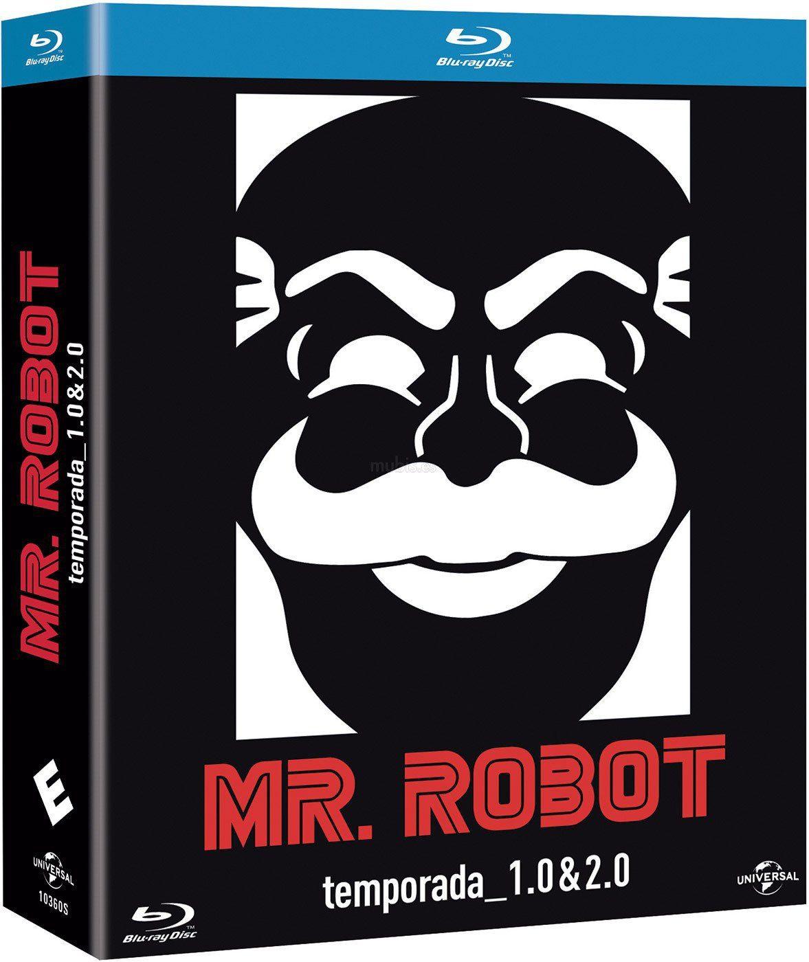 """""""Mr. Robot, Temp. 2"""" en Blu-ray y Dvd el 8 de febrero (+ Pack Temp. 1 y 2) • En tu pantalla"""