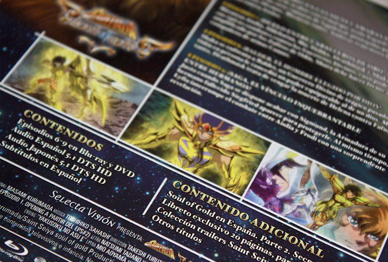 """Análisis Blu-ray: """"Saint Seiya: Soul of Gold, Vol. 2"""" de Selecta Visión • En tu pantalla"""