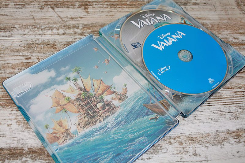 """Coleccionismo: """"Vaiana"""" Edición Steelbook (3D+2D) • En tu pantalla"""