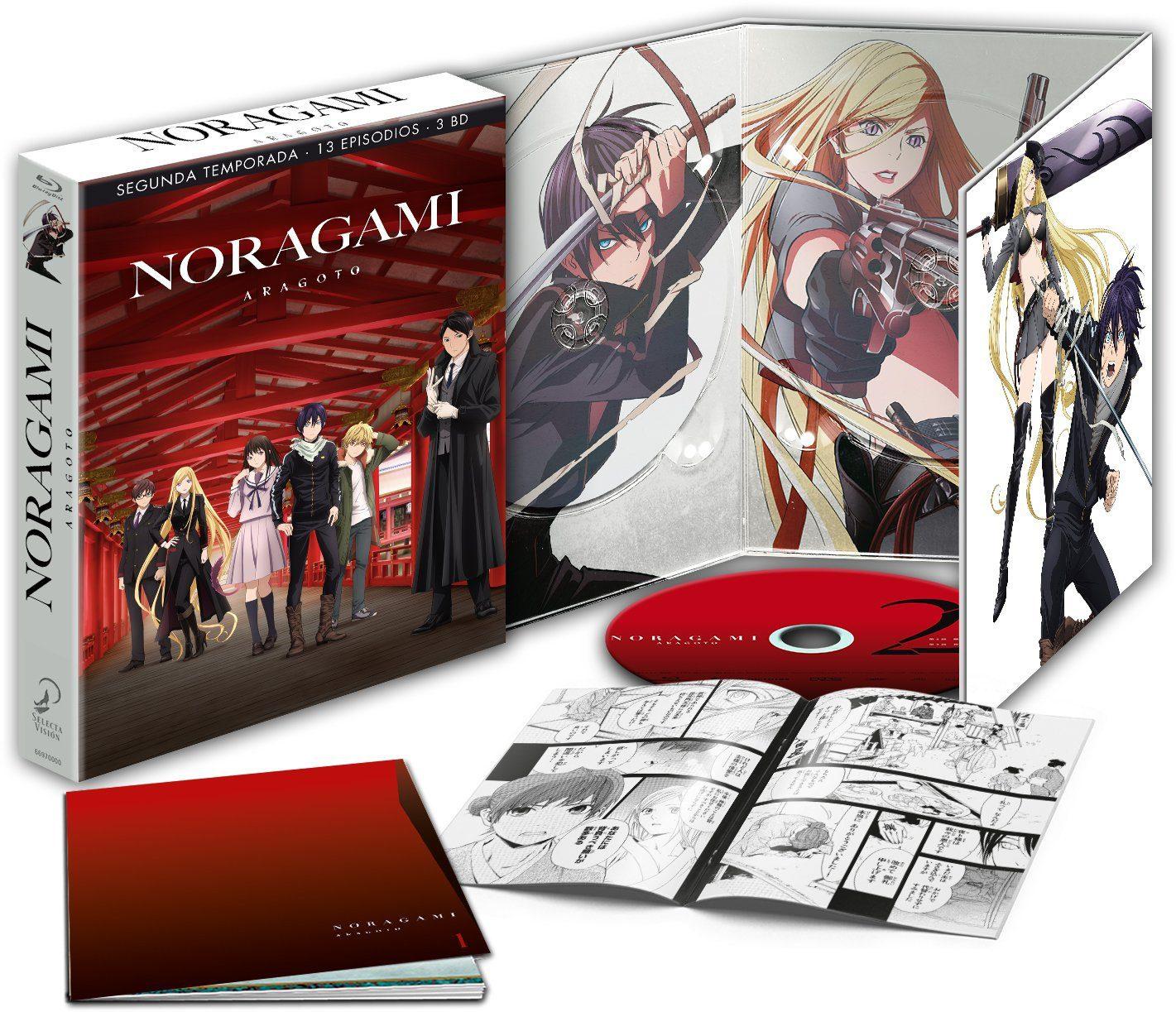 """""""Noragami: Aragoto [Temporada 2]"""" en Blu-ray y Dvd el 31 de mayo • En tu pantalla"""
