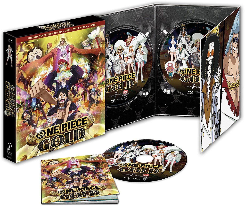 """""""One Piece Gold"""" a la venta el 12 de abril en Blu-ray y Dvd (Carátula Ed. Coleccionista) • En tu pantalla"""