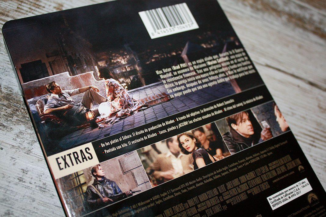 """Coleccionismo: """"Aliados"""" Edición Steelbook (Blu-ray) • En tu pantalla"""