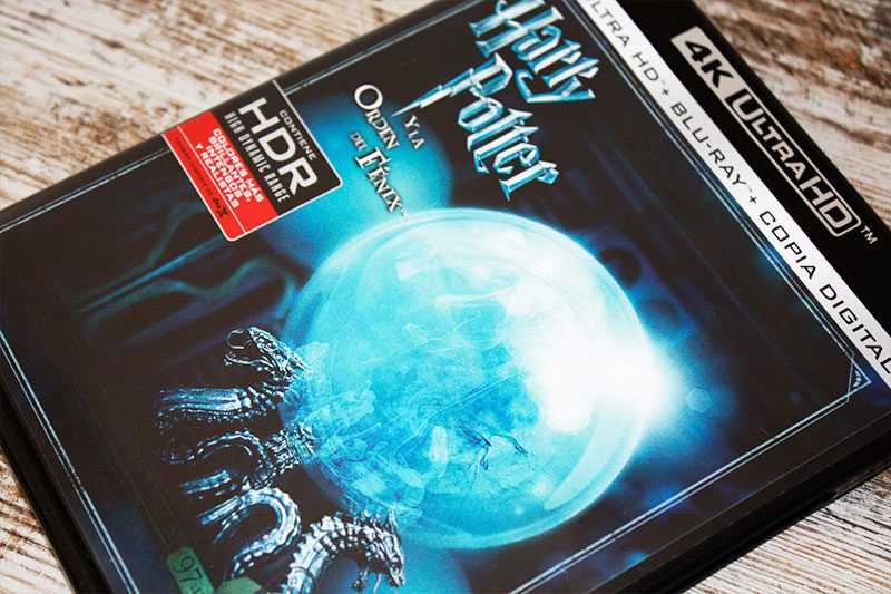 "Análisis 4K Ultra HD: ""Harry Potter y la orden del fénix"""