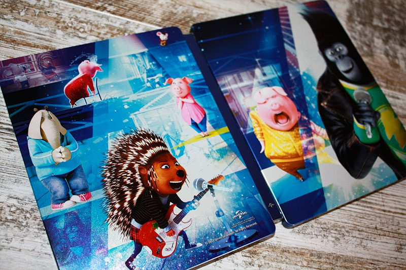 "Coleccionismo: ""¡Canta!"" Edición Steelbook (Blu-ray + Dvd) • En tu pantalla"