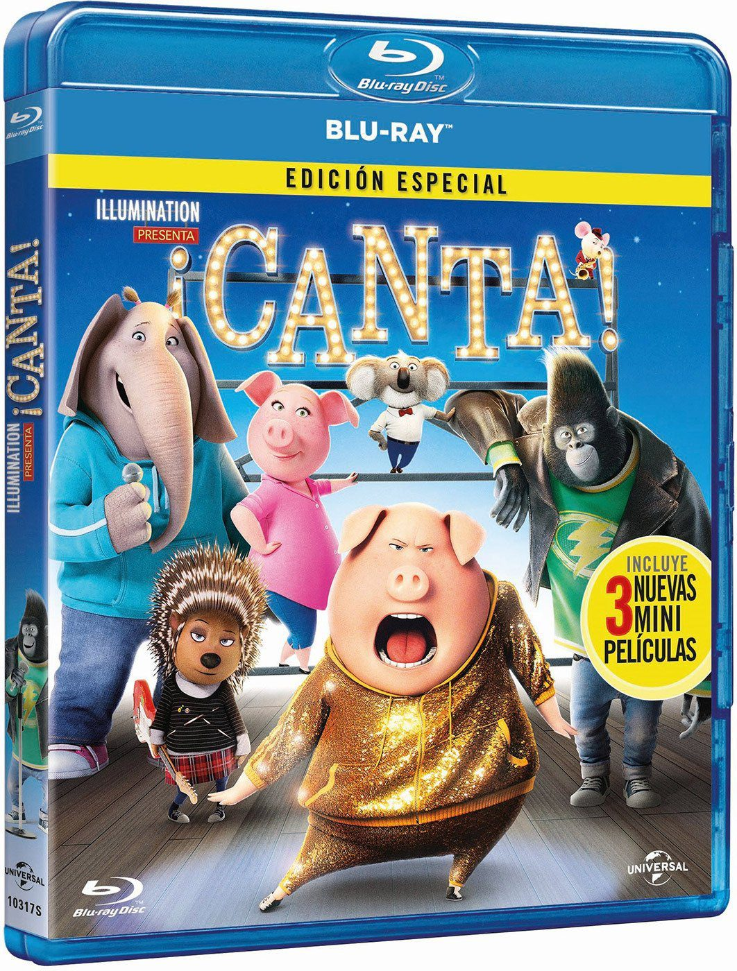 """¡Canta!"" en 4K, 3D, Blu-ray y Dvd el 26 de abril • En tu pantalla"