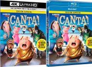 """""""¡Canta!"""" en 4K, 3D, Blu-ray y Dvd el 26 de abril"""