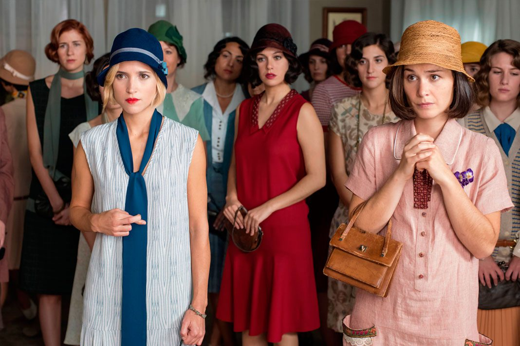 """""""Las chicas del cable"""", la primera serie española de Netflix"""
