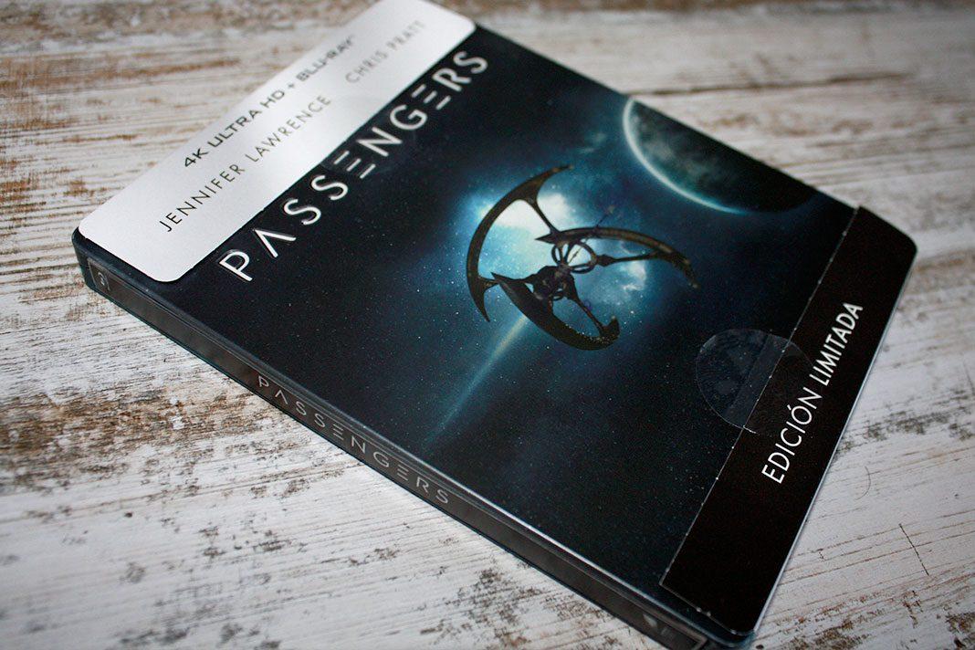 """Coleccionismo: """"Passengers"""" Edición Steelbook (4K Ultra HD + Blu-ray)"""