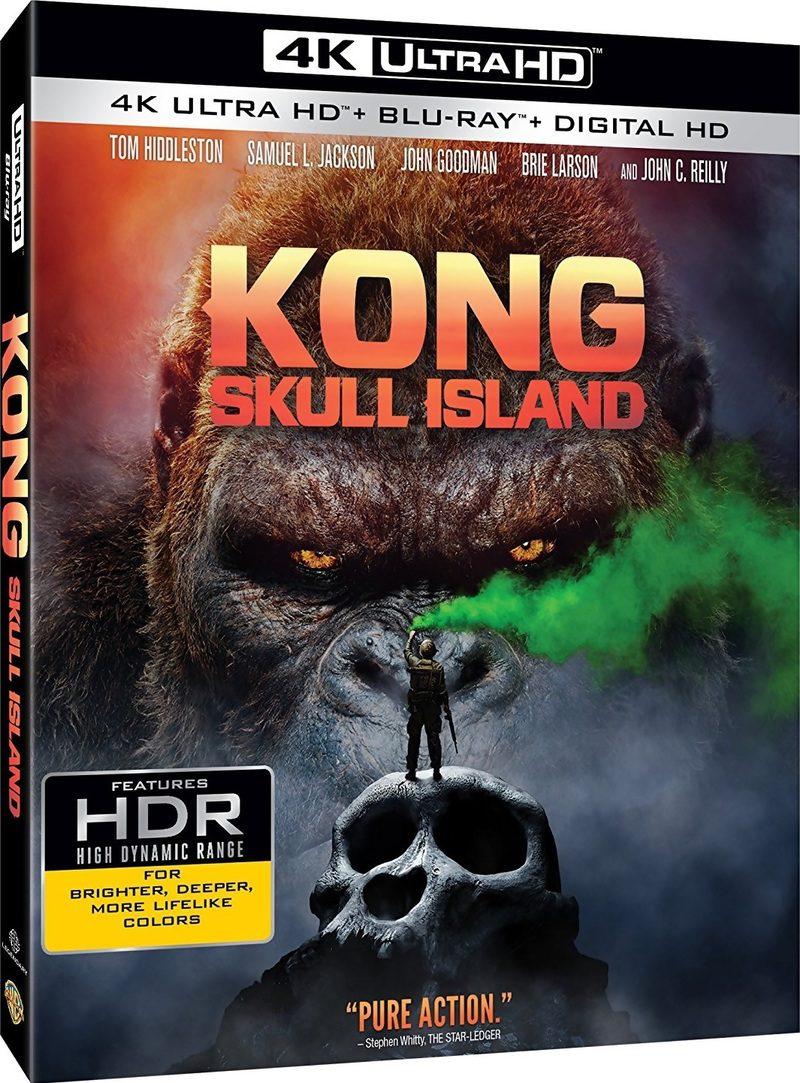 """""""Kong: La Isla Calavera"""" llegará en 4K, 3D, Steelbook, Blu-ray y Dvd el 14 de julio • En tu pantalla"""