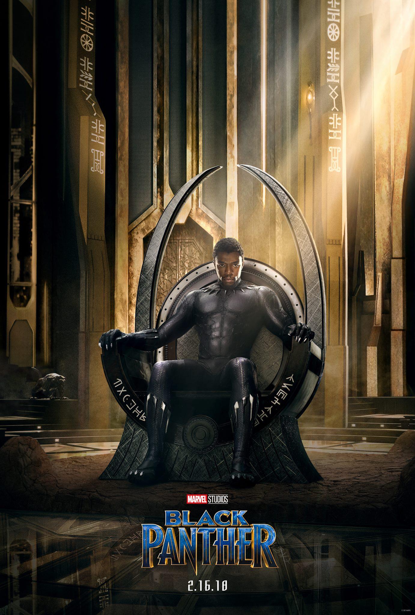Black Panther Póster