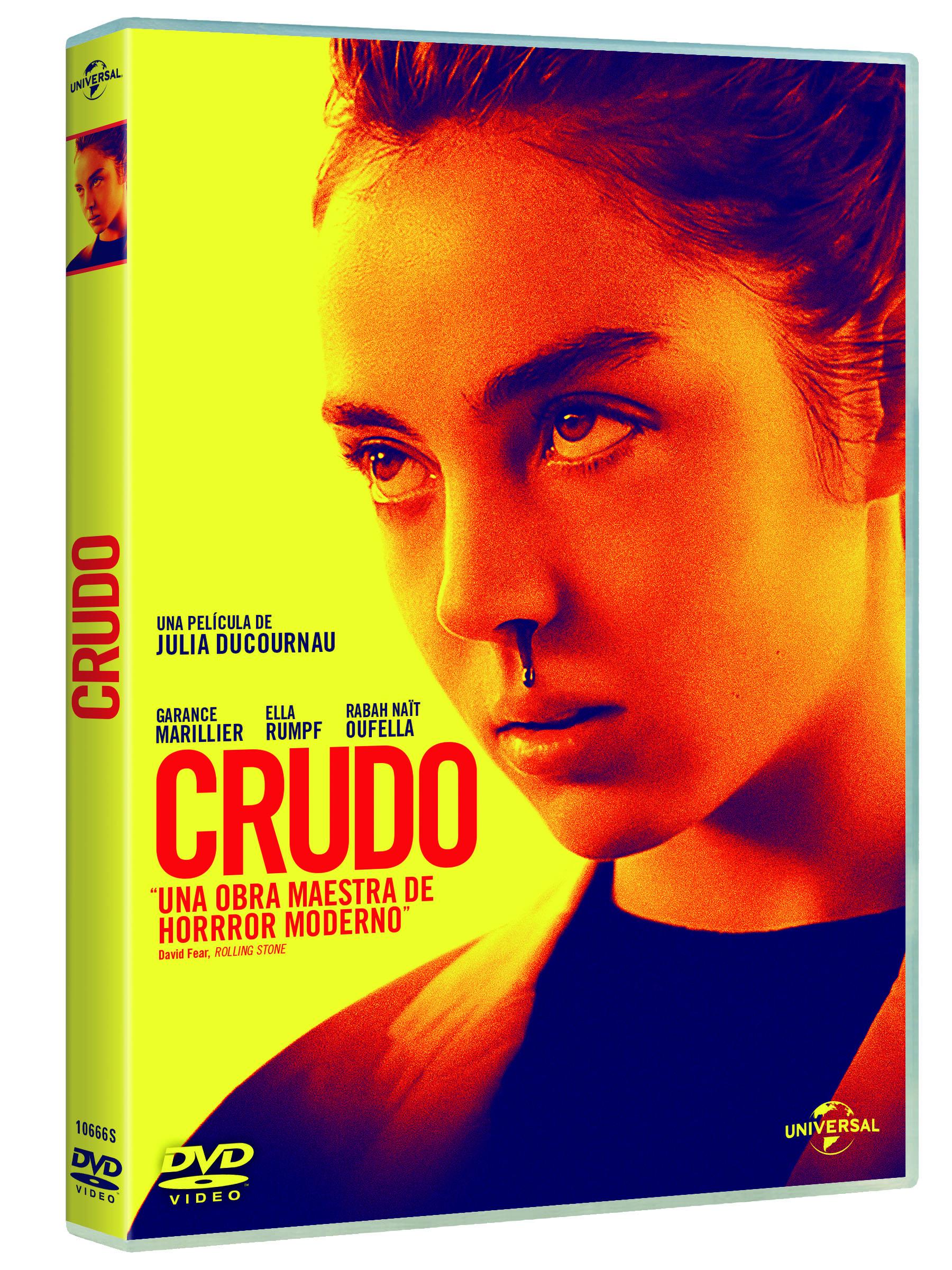 'Crudo' a la venta en Blu-ray y Dvd el 12 de julio • En tu pantalla