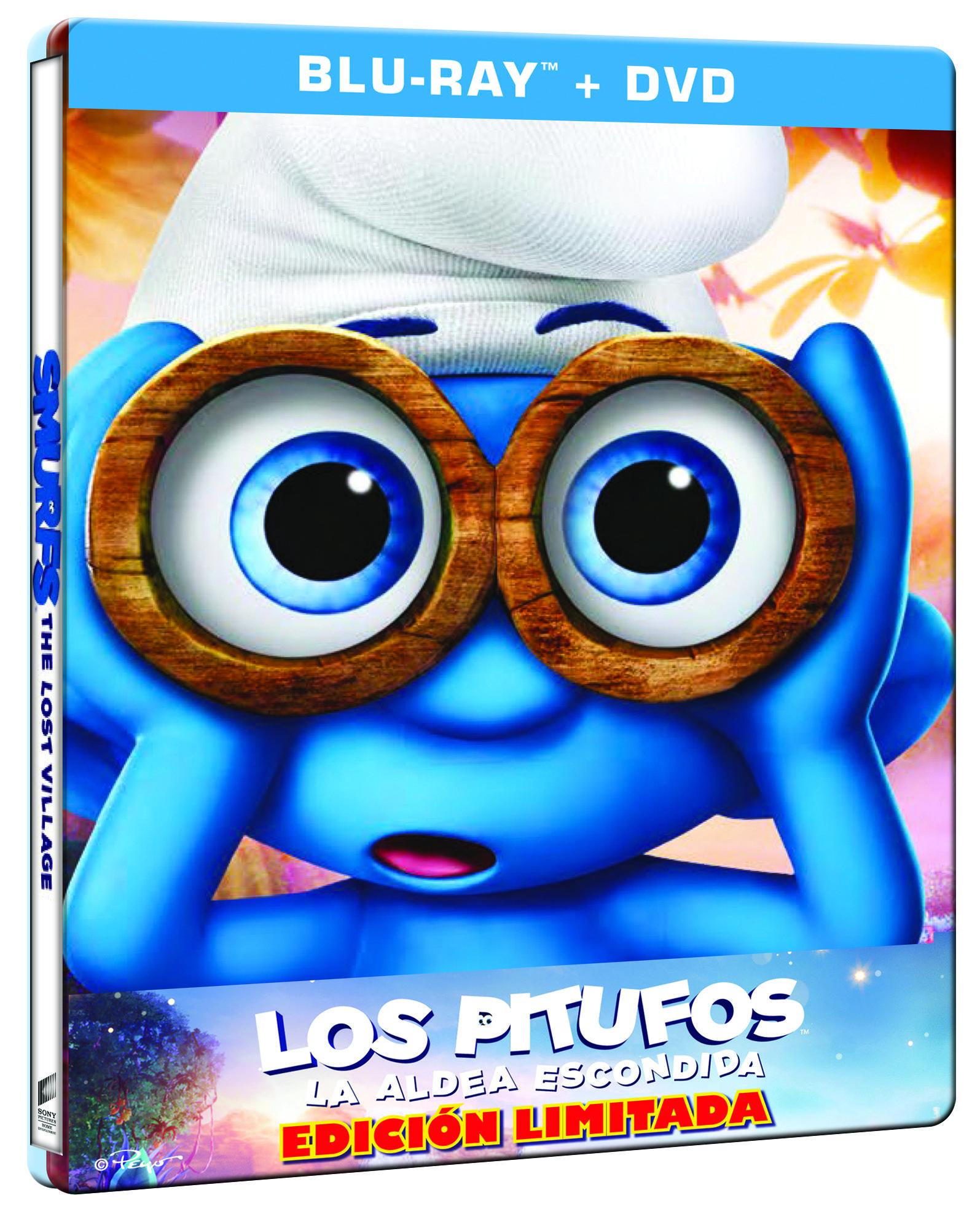 'Los Pitufos: La aldea escondida' en 4K, Steelbook, Blu-ray y Dvd el 26 de julio • En tu pantalla
