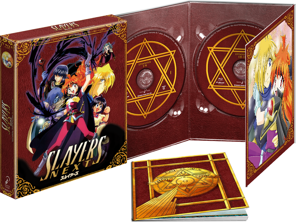 'Slayers: Temporada 2' en Blu-ray y Dvd de la mano de Selecta Visión el 30 de agosto • En tu pantalla