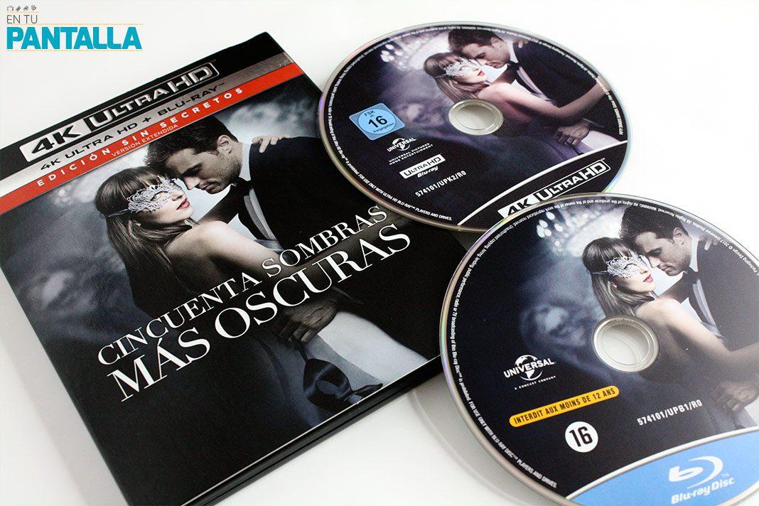 'Cincuenta sombras más oscuras', un vistazo a la edición 4K UltraHD