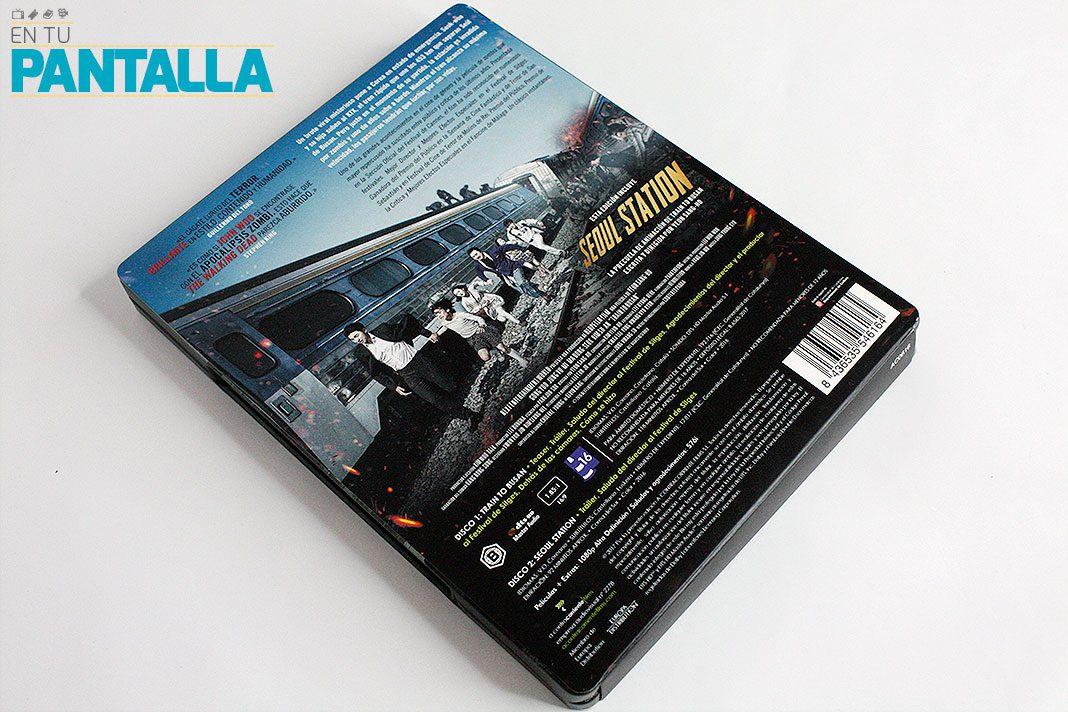 'Train to Busan': Un vistazo al fantástico Steelbook • En tu pantalla