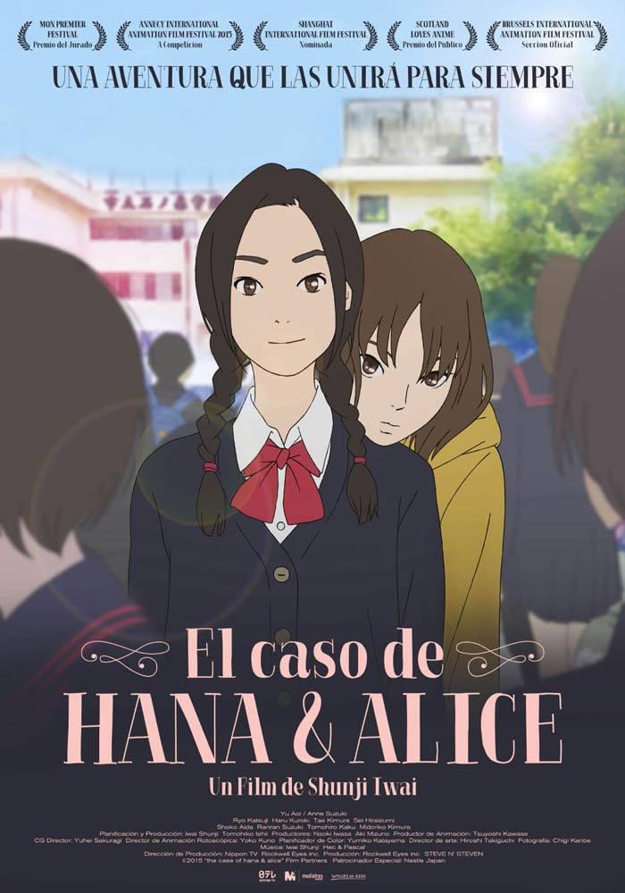 'Hana y Alice' y su precuela en Blu-ray y Dvd gracias a Mediatres Estudio • En tu pantalla