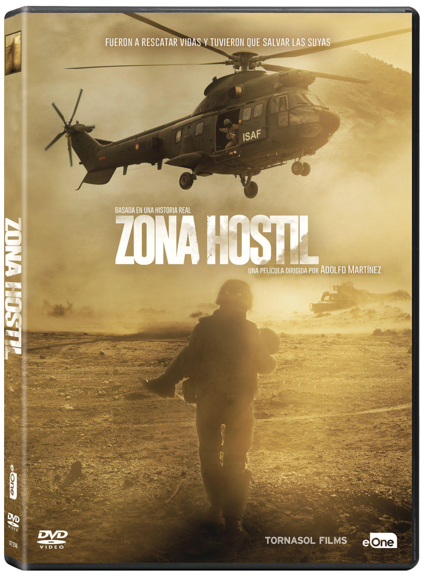 'Zona Hostil' a la venta en Blu-ray y Dvd el 12 de julio • En tu pantalla