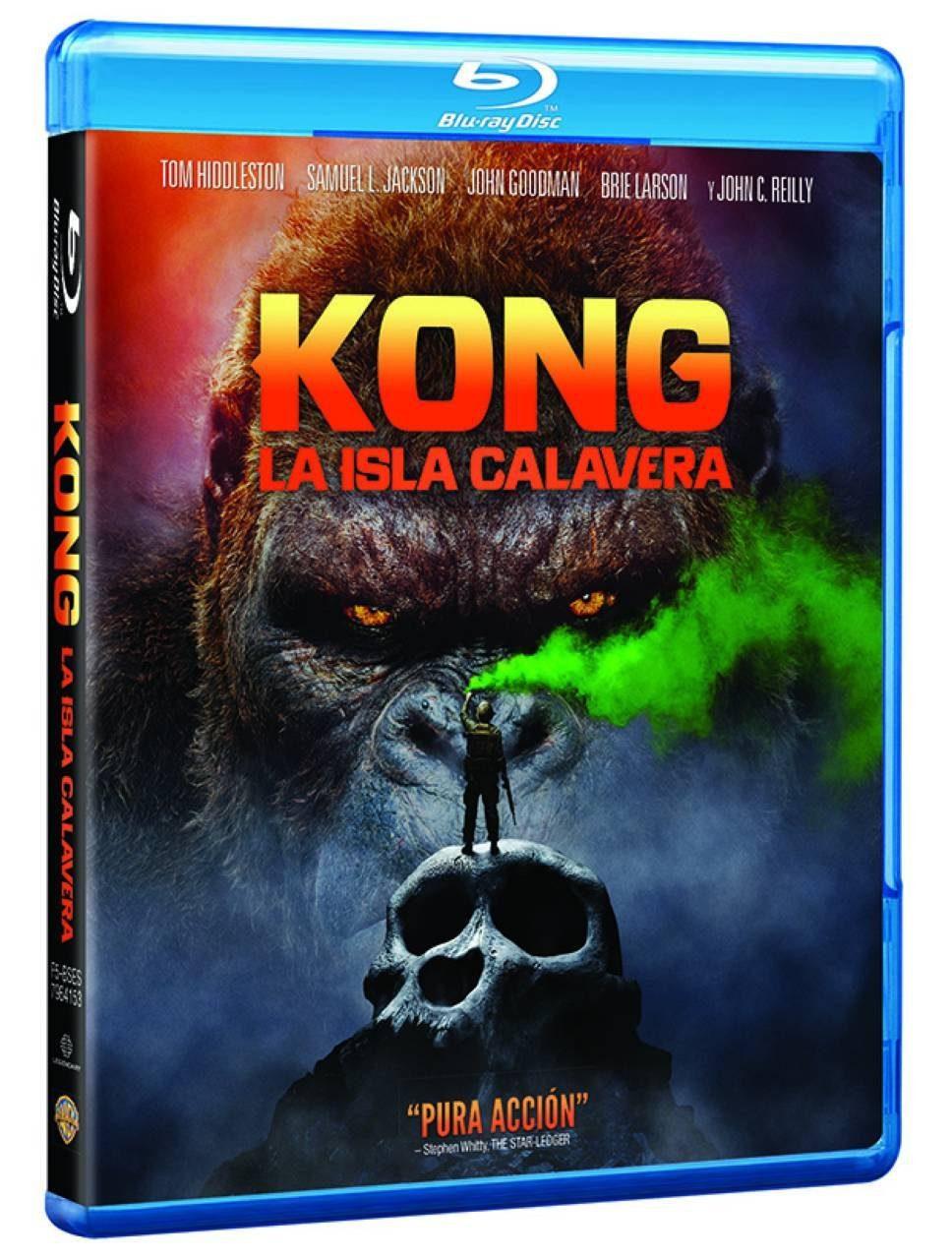 [FINALIZADO] ¡Concurso! Gana una copia de 'Kong: La Isla Calavera' en Blu-ray