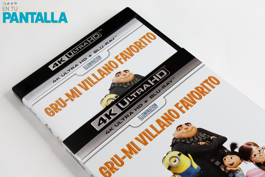 'Gru. Mi villano favorito', un vistazo a la edición 4K Ultra HD • En tu pantalla