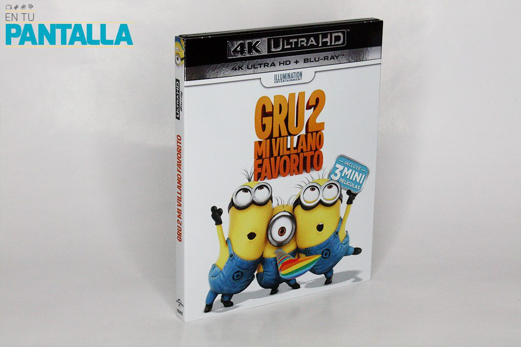 'Gru 2. Mi villano favorito', un vistazo a la edición 4K Ultra HD • En tu pantalla