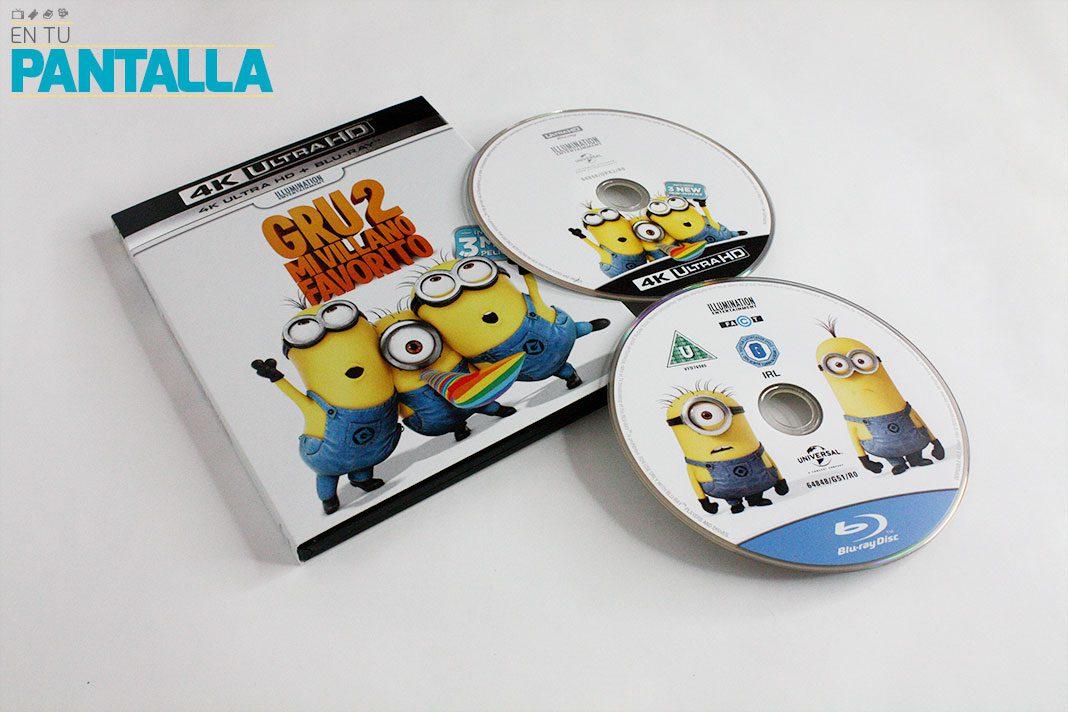 'Gru 2. Mi villano favorito', un vistazo a la edición 4K Ultra HD