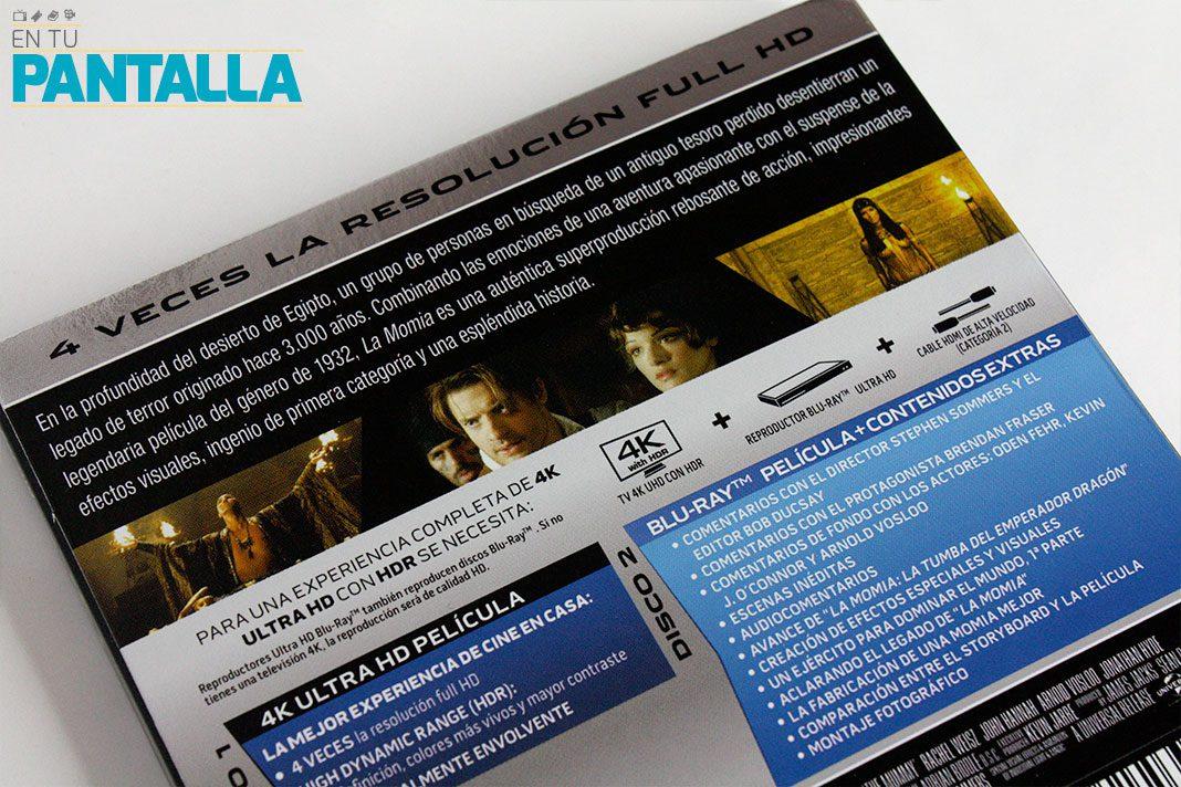 'La Momia' en 4K Ultra HD luce como nunca gracias al HDR • En tu pantalla