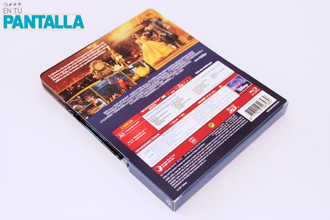 """Coleccionismo: 'La Bella y la Bestia (2017)"""" Edición Steelbook (3D+Blu-ray) • En tu pantalla"""
