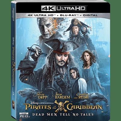 ¿Llegará 'Piratas del Caribe: La Venganza de Salazar' en 4K Ultra HD?