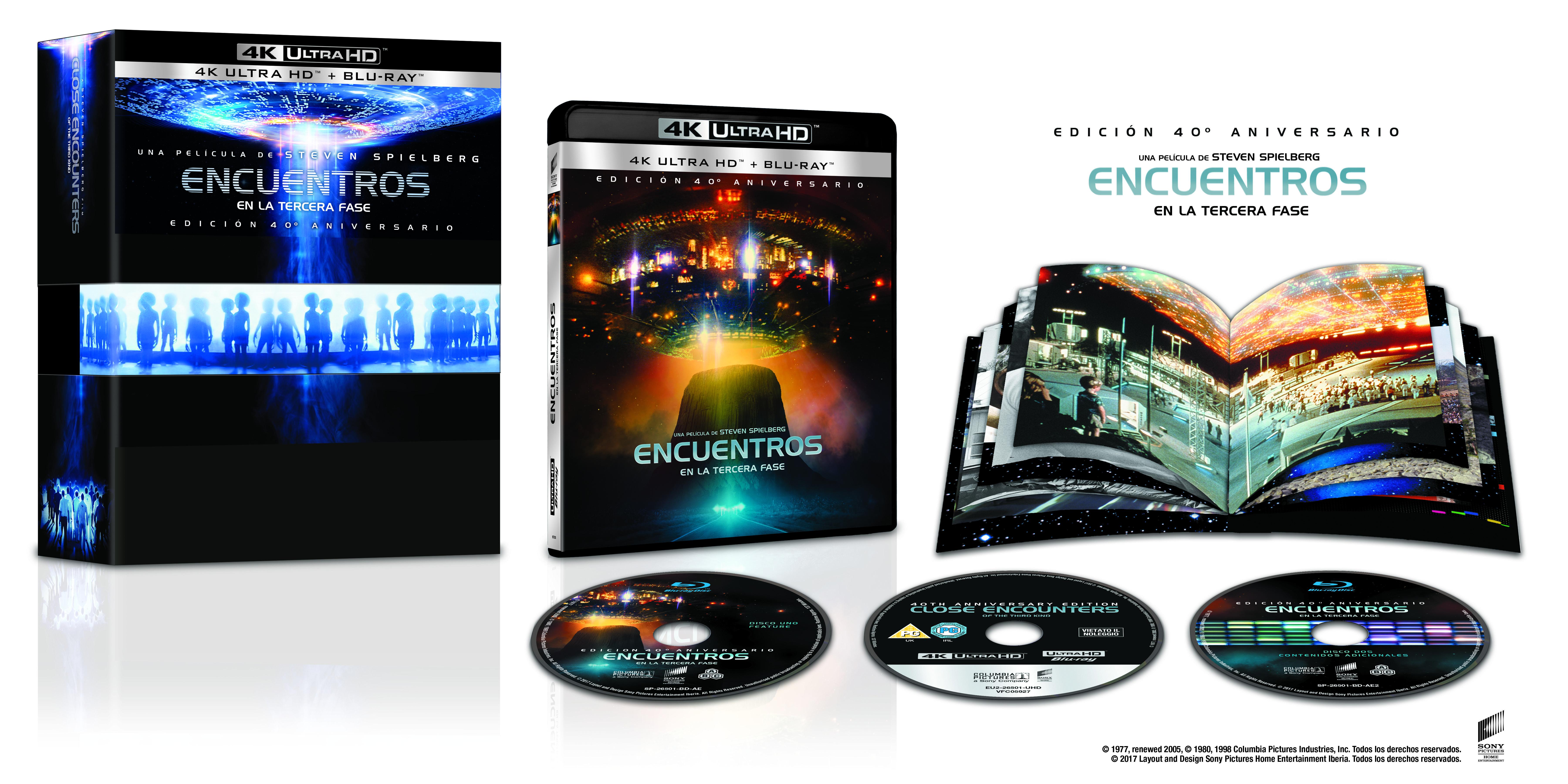 'Encuentros en la tercera fase' en 4K Ultra HD y Steelbook el 4 de octubre • En tu pantalla