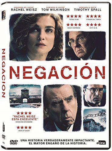 'Negación' a la venta en Dvd el 18 de agosto. Con la gran Rachel Weisz • En tu pantalla