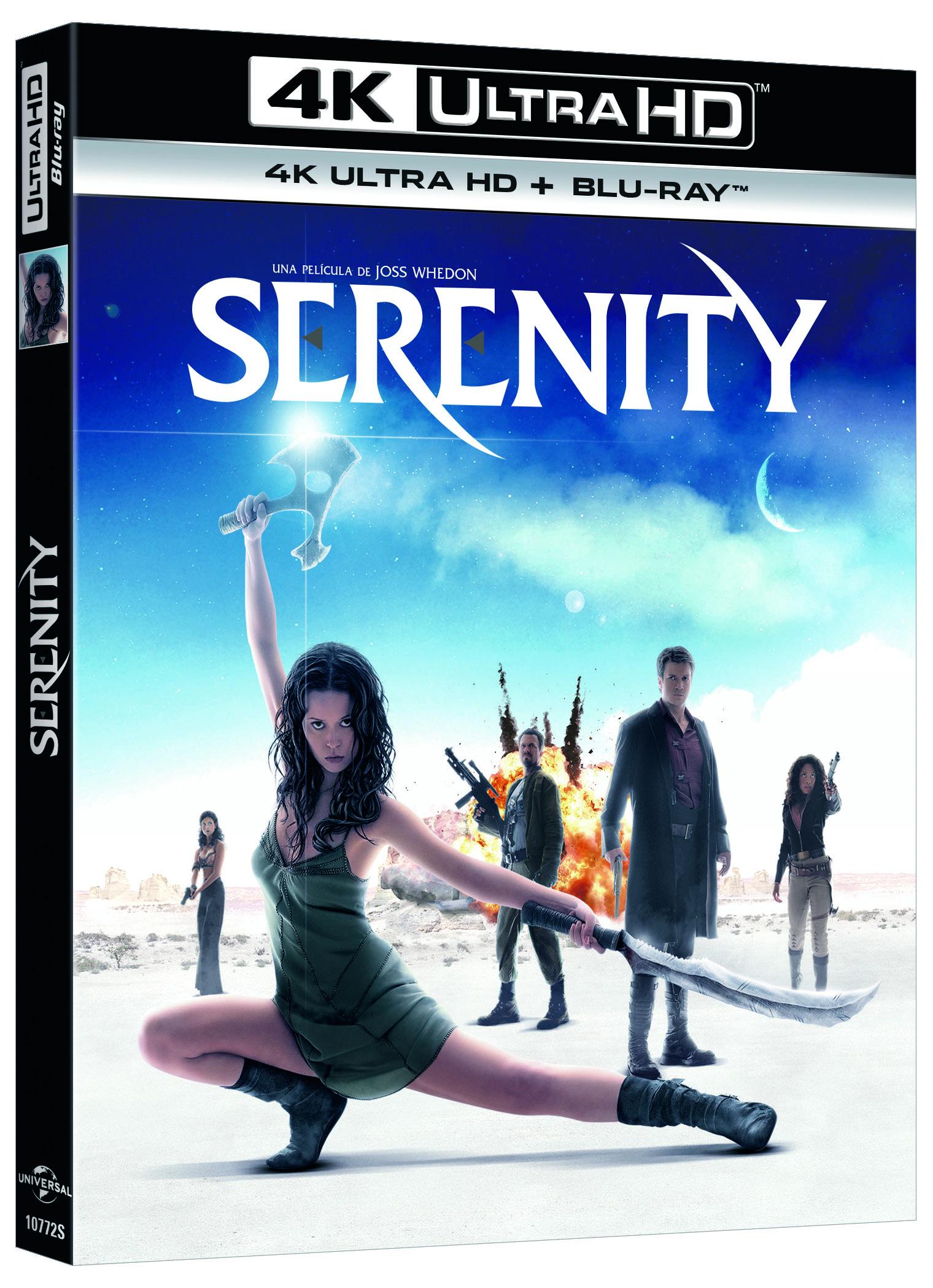 'Serenity' en 4K Ultra HD el 4 de octubre. Primer 4K de Joss Whedon • En tu pantalla