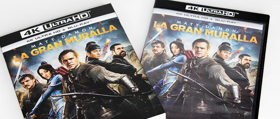 'La Gran Muralla', un vistazo a la edición 4K Ultra HD • En tu pantalla