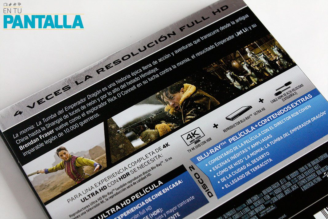 'La Momia: La tumba del emperador Dragón' en 4K Ultra HD de la mano de Universal • En tu pantalla
