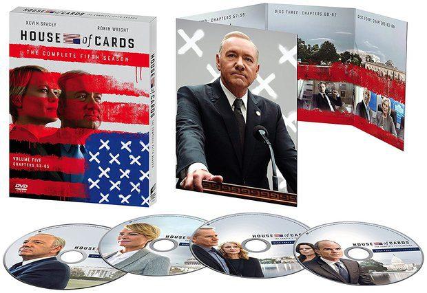 'House of Cards, Temporada 5' en Blu-ray y Dvd el 4 de octubre • En tu pantalla